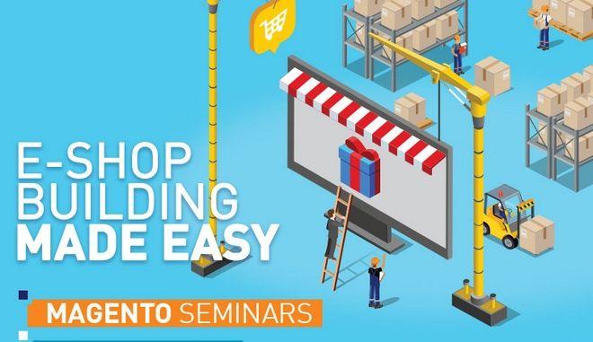 Σεμινάριο Magento E-shop building από το Αthens Tech