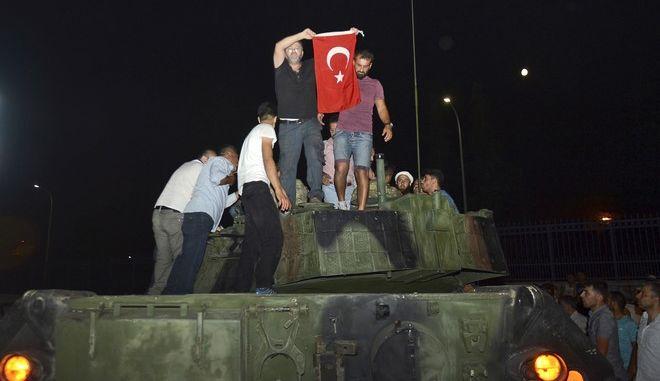 Απόπειρα πραξικοπήματος στην Τουρκία το 2016