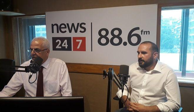 News 24/7 στους 88,6: Live στο στούντιο ο Δημήτρης Τζανακόπουλος