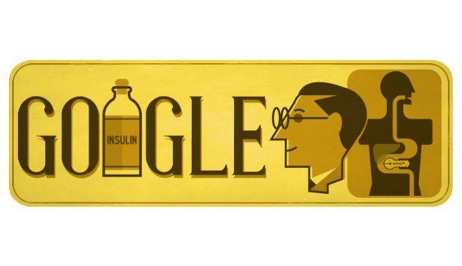 Η 125η επέτειος από τη γέννηση του Sir Frederick Banting στο google doodle