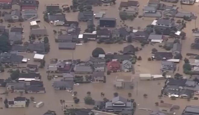 Ιαπωνία: Χιλιάδες αποκλεισμένα σπίτια μετά τις πολύνεκρες πλημμύρες