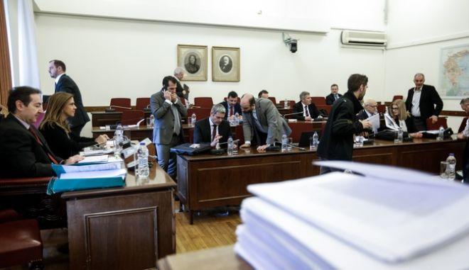 Συνεδρίαση της Ειδικής Κοινοβουλευτικής Επιτροπής προς διενέργεια προκαταρκτικής εξέτασης σχετικά με τη διερεύνηση αδικημάτων που τυχόν έχουν τελεσθεί από τον πρώην Αναπληρωτή Υπουργό Δικαιοσύνης Δημήτριο Παπαγγελόπουλο