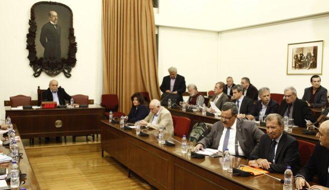 ΑΘΗΝΑ-Συνεδρίαση της Διάσκεψης των Προέδρων της Βουλής για το νέο ΕΣΡ.(Eurokinissi-ΚΟΝΤΑΡΙΝΗΣ ΓΙΩΡΓΟΣ)