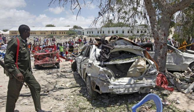 Πολλά θύματα από έκρηξη στην Σομαλία