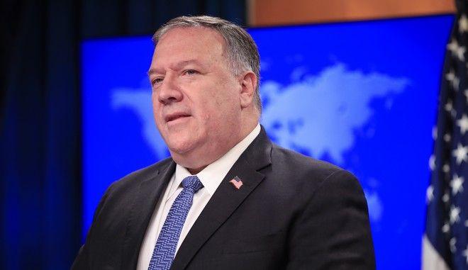 Ο επικεφαλής της αμερικανικής διπλωματίας Μάικ Πομπέο