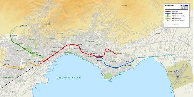 Μετρό Θεσσαλονίκης: Ο μετροπόντικας έφθασε στην Καλαμαριά
