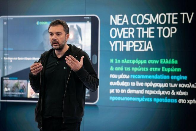 Νίκος Καλλιάνης, Εμπορικός Διευθυντής της COSMOTE TV