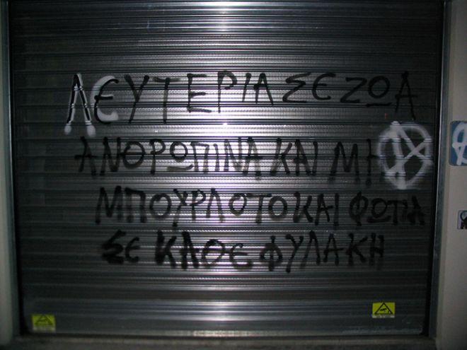 Θεσσαλονίκη: Αναρχικοί επιτέθηκαν σε pet shops για τα νεκρά τζάγκουαρ