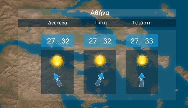 Καιρός: Αίθριος με θερμοκρασία κοντά στα κανονικά επίπεδα