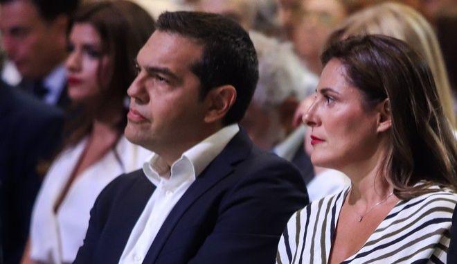 Ο Αλέξης Τσίπρας και η Περιστέρα Μπαζιάνα