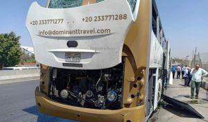 Αίγυπτος: Έκρηξη σε τουριστικό λεωφορείο στην περιοχή των Πυραμίδων