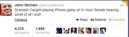 Ο Τζον ΜακΚέιν έπαιζε πόκερ την ώρα που το Κογκρέσο αποφάσιζε για τη Συρία