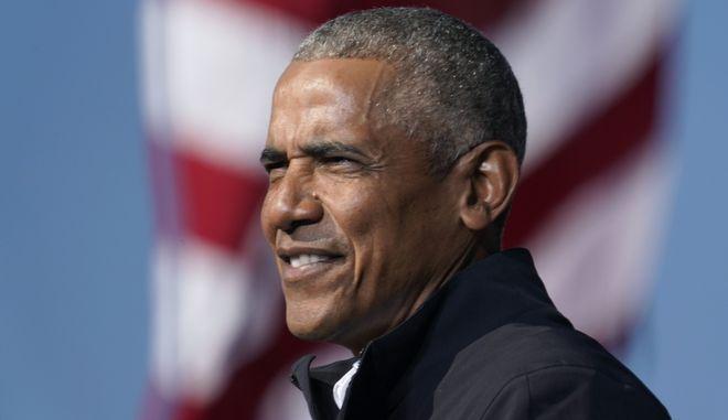 Ο πρώην Αμερικανός πρόεδρος Μπάρακ Ομπάμα
