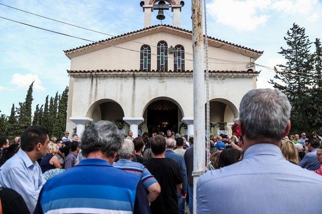 Κηδεία του συνθέτη και τραγουδιστή Λαυρέντη Μαχαιρίτσα την τετάρτη 11 Σεπτεμβρίου 2019. (EUROKINISSI/ΣΩΤΗΡΗΣ ΔΗΜΗΤΡΟΠΟΥΛΟΣ)