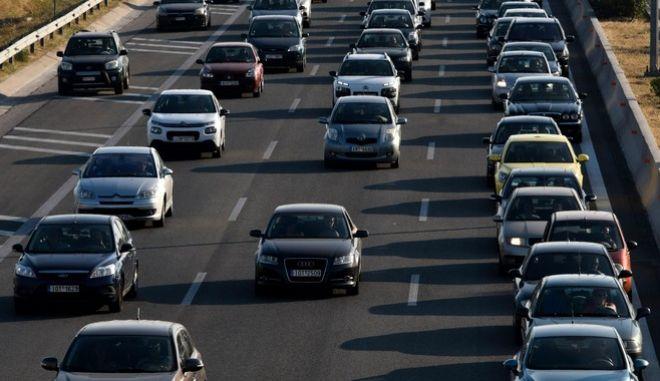 Κίνηση στην εθνική οδό