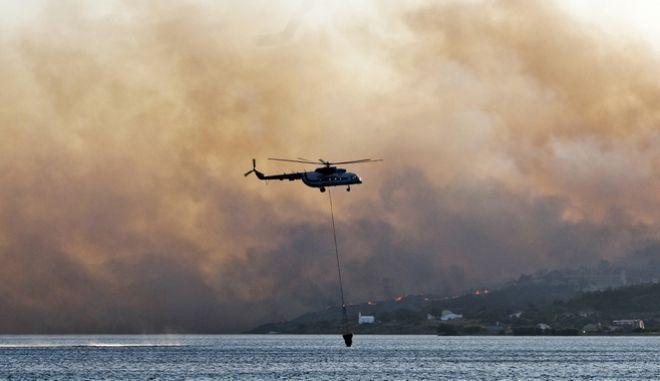 Ελικόπτερο της Πυροσβεστικής