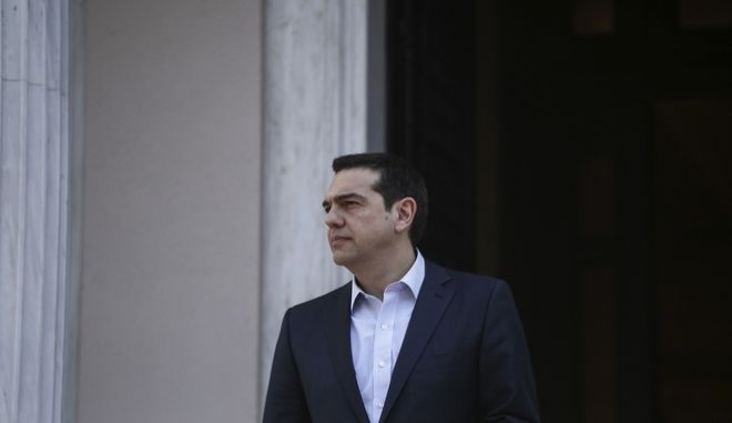 Meeting between the Prime Minister of Greece Alexis Tsipras and the the Prime Minister of France, Bernard Cazeneuve,in Athens, on March 3, 2017 /          ,  ,  ,   3 , 2017