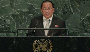 Βορειοκορεάτης ΥΠΕΞ: Αναπόφευκτη η 'επίσκεψη' των πυραύλων μας στις ΗΠΑ