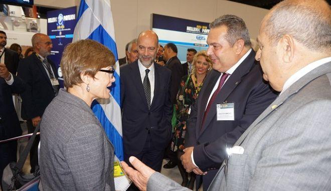 Υφυπουργός Άμυνας ΗΠΑ: Χτίζουμε πάνω σε κοινούς στόχους με την Ελλάδα