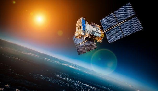 Δορυφόρος - φωτογραφία αρχείου