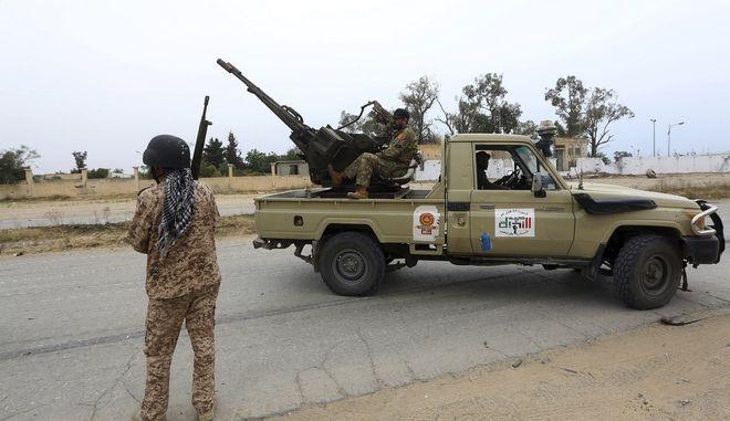 Οι δυνάμεις των ανταρτών στη Λιβύη