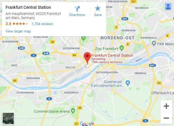 Φρακφούρτη: Πυροβολισμοί σε σταθμό τρένου