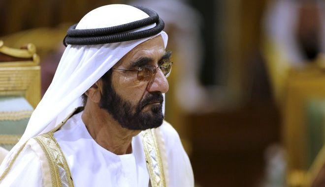 Ο Σεΐχης Mohammed Bin Rashid Al Maktoum