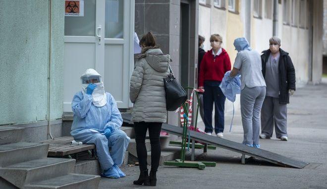 Το νοσοκομείο του Ζάγκρεμπ, στην Κροατία