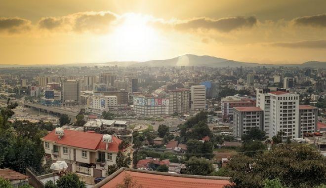 Εικόνα από την Αντίς Αμπέμπα στην Αιθιοπία