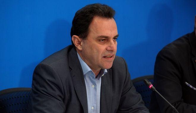 Συνέντευξη Τύπου του Συντονιστή  ΟΔΕ Δημόσιας Διοίκησης, Δημόσιας Τάξης και  Δικαιοσύνης, Σίμου Κεδίκογλου και του Τομεάρχη Εσωτερικών της Νέας Δημοκρατίας, Βουλευτή Ν. Κιλκίς, Γιώργου Γεωργαντά σχετικά με το σχέδιο νόμου του Υπουργείου Εσωτερικών και Διοικητικής Ανασυγκρότησης περί  τροποποίησης  του Κώδικα  Ελληνικής Ιθαγένειας. (EUROKINISSI/ΑΛΕΞΑΝΔΡΟΣ ΖΩΝΤΑΝΟΣ)