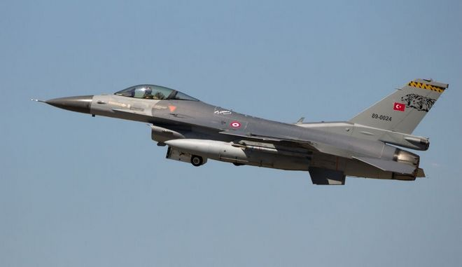 Μαχητικό F-16 της τουρκικής ΠΑ