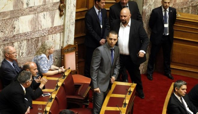ΑΘΗΝΑ-ΒΟΥΛΗ-Ο καθιερωμένος αγιασμός στη Βουλή για τη νέα κοινοβουλευτική περίοδο.(EUROKINISSI- ΓΙΩΡΓΟΣ ΚΟΝΤΑΡΙΝΗΣ)