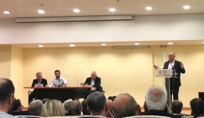 Υπέρ της συγκρότησης προοδευτικού μετώπου Παπαδημούλης, Δανέλλης, Ραγκούσης