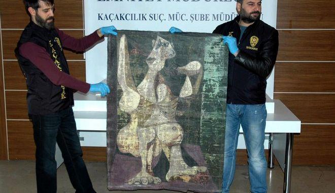 Πλαστός πίνακας του Πικάσο κατασχέθηκε στην Κωνσταντινούπολη