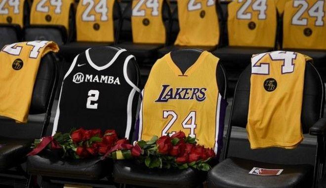 Κόμπι Μπράιαντ: Στη μνήμη των θυμάτων και του Στερν οι φανέλες του All-Star Game