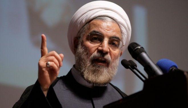 Ο πρόεδρο του Ιράν, Χασάν Ρουχανί