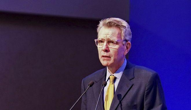 Ο Αμερικανός πρέσβης στην Αθήνα Τζέφρι Πάιατ