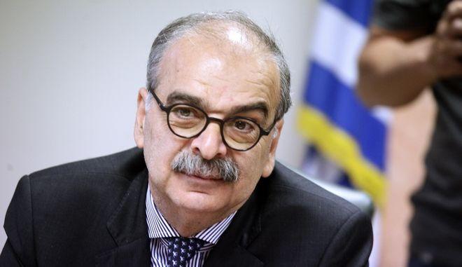 O γενικός γραμματέας στρατηγικών και ιδιωτικών επενδύσεων Λόης Λαμπριανίδης