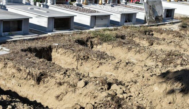 Κοιμητήριο (Φωτογραφία αρχείου)