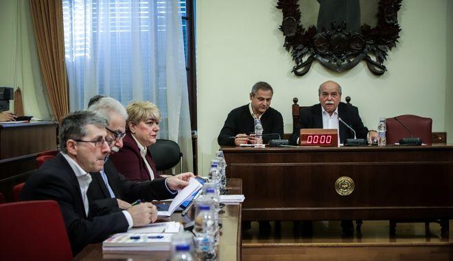 Ακρόαση από τα μέλη της Επιτροπής Δημοσίων Επιχειρήσεων, Τραπεζών, Οργανισμών Κοινής Ωφελείας και Φορέων Κοινωνικής Ασφάλισης, του προτεινομένου από τον Κωνσταντίνο Γαβρόγλου, για διορισμό στη θέση του Προέδρου της Αρχής Διασφάλισης και Πιστοποίησης της Ποιότητας στην Ανώτατη Εκπαίδευση Παντελή Κυπριανού