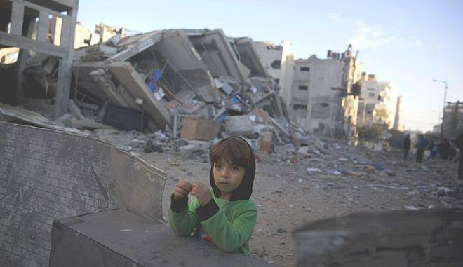 Παιδί στην Παλαιστίνη
