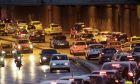 Η κίνηση των οχημάτων στη λεωφόρο Κηφισίας (αρχείο)