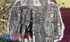 Θεσσαλονίκη: Η συγκινητική τοιχογραφία για το Ολοκαύτωμα