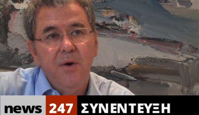 O Δήμαρχος Ρόδου Σ. Κουσουρνάς στο NEWS 247: Δεν θέλουμε αφεντικά στον τόπο μας