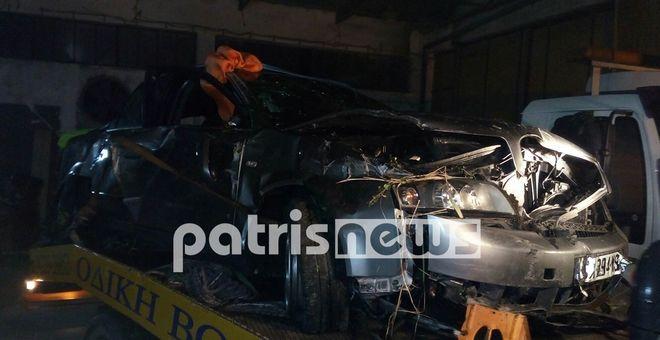 Ένα όχημα, στην επαρχιακή οδό Αμαλιάδας-Μαραθιάς, έπεσε σε αρδευτικό κανάλι. Οι δύο επιβαίνοντες ανασύρθηκαν νεκροί, μετά από υπεράνθρωπες προσπάθειες της Πυροσβεστικής.