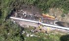 Σιδηροδρομικό δυστύχημα με νεκρούς και τραυματίες.