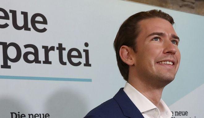 Ο πρώην καγκελάριος της Αυστρίας του Λαϊκού Κόμματος Σεμπάστιαν Κουρτς