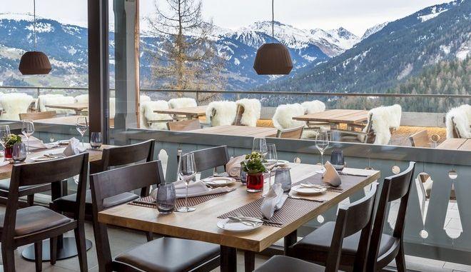 Εστιατόριο στην Ελβετία