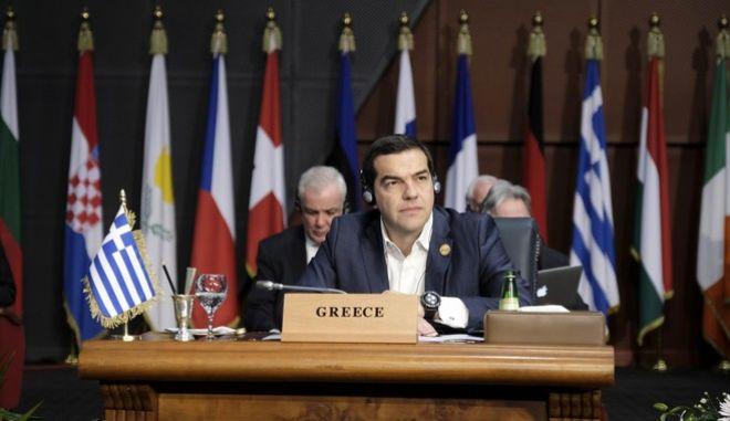 Συμμετοχή του Πρωθυπουργού Αλέξη Τσίπρα στις εργασίες Συνόδου ΕΕ-Αραβικού Συνδέσμου