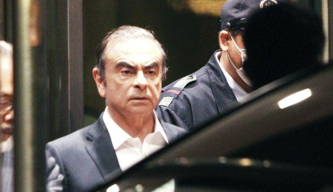 Ο πρώην πρόεδρος της Nissan, Κάρλος Γκοσν.